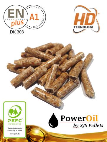SJS Pellets Premium PowerOil | 6mm [Indblæst]