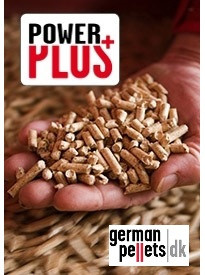 German Pellets med PowerPlus indblæst